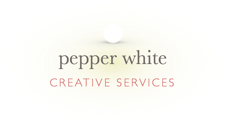 pepper white creative services logo