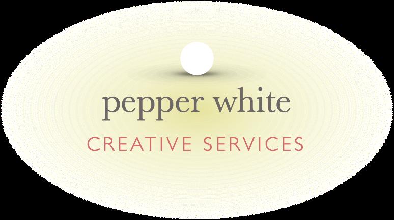 pepper white creative services logo
