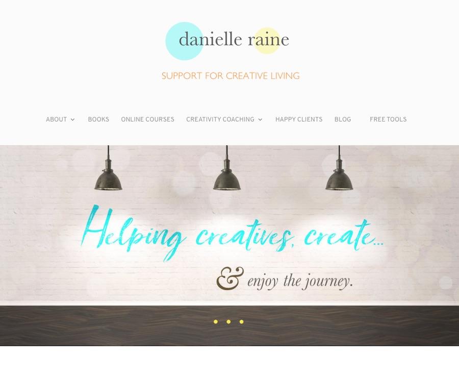 danielle raine creativity coaching online courses blog
