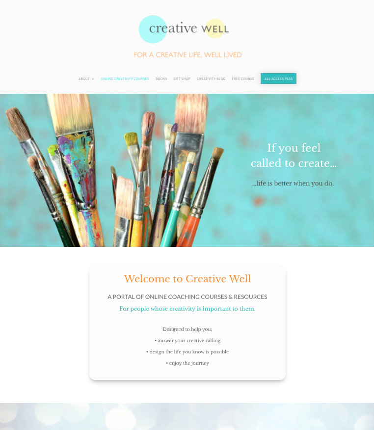 creative well online creativity courses platform